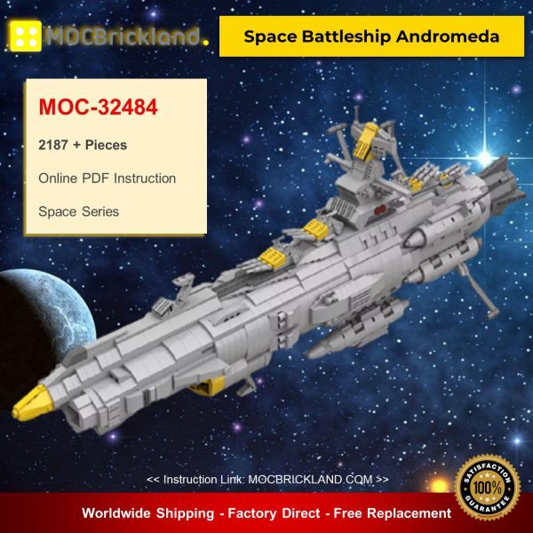 Space MOC-32484 Space Battleship Andromeda By apenello MOCBRICKLAND