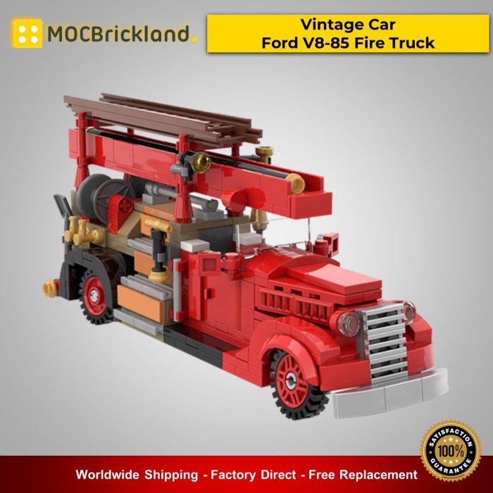 Technic MOC-35195 Vintage Car - Ford V8-85 Fire Truck By SugarBricks MOCBRICKLAND