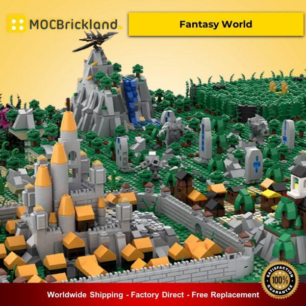 Creator MOC-35337 Fantasy World By gabizon MOCBRICKLAND
