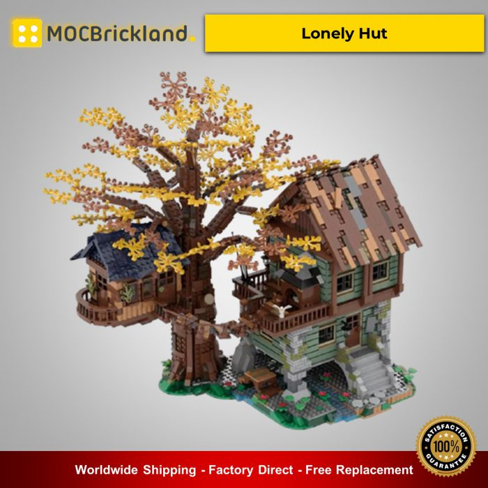 Creator moc-40180 lonely hut by nobsta mocbrickland