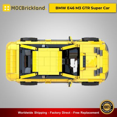 Technic MOC-45363 BMW E46 M3 GTR Super Car By QuattroBricks MOCBRICKLAND