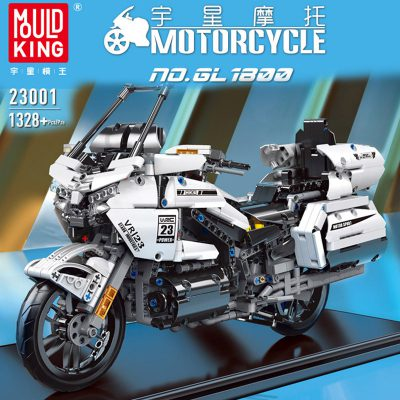 Technic MOULDKING 23001 MOC-29381 2018 Honda Gold Wing GL1800 1:7