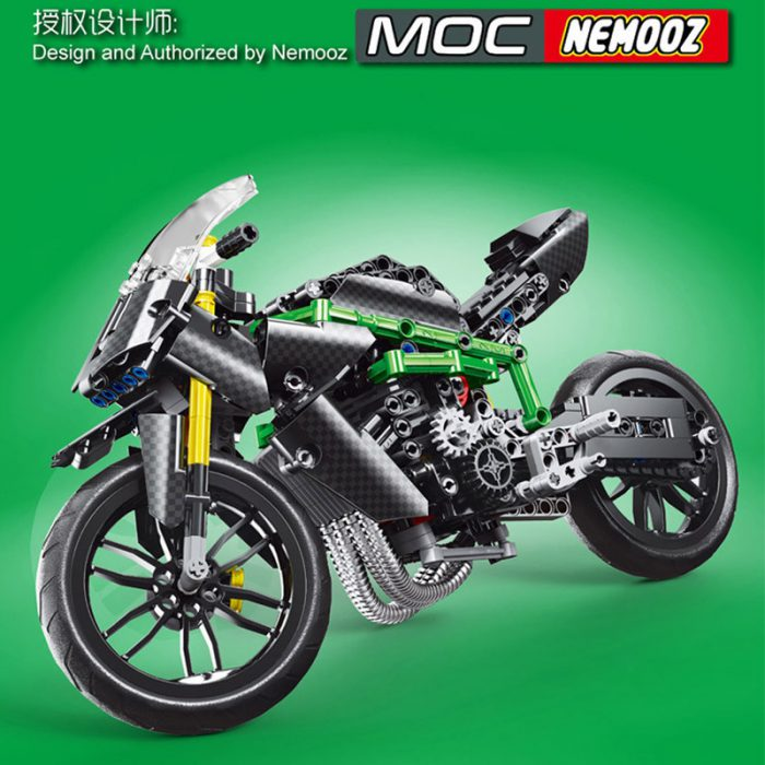 Technic mouldking 23002 moc-32005 kawasaki h2r