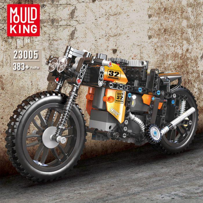 Technic mouldking 23005 moc-17249 rc racing motorcycle