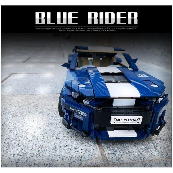 PANGU 14001 Ford Mustang GT500 RC Super Car Compatible LEGO 10265 10