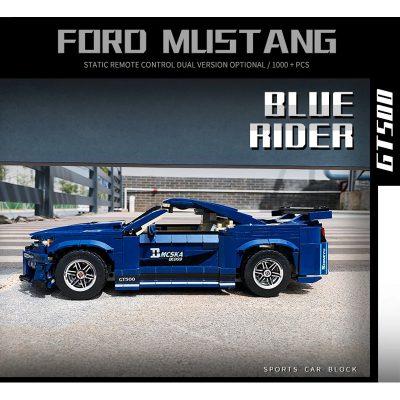 PANGU 14001 Ford Mustang GT500 RC Super Car Compatible LEGO 10265 2