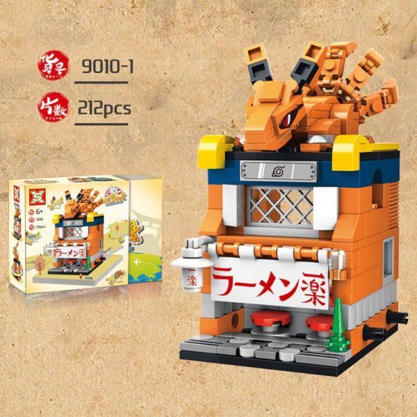 SX 9010 Retail Store 4 In1 Japan Anime Naruto 2