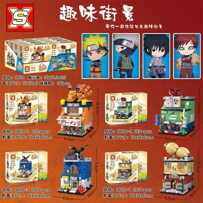 SX 9010 Retail Store 4 In1 Japan Anime Naruto 4