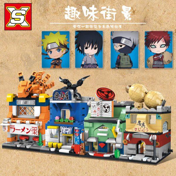 Movie SX 9010 Retail Store 4 In1 Japan Anime Naruto