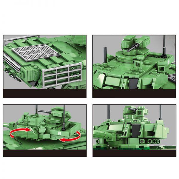 SY 0101 Russian T 14 Amata Main Battle Tank 4