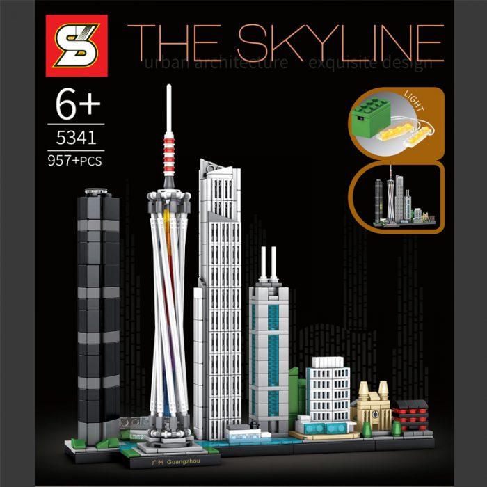 Creator SY 5341 The Skyline Guangzhou