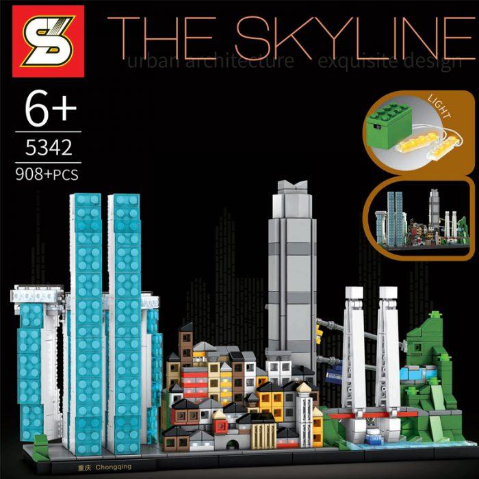 Creator sy 5342 the skyline: chongqing