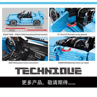 SY 8307 Juggernaut Frenzy Honda Roadster Pull Back 4