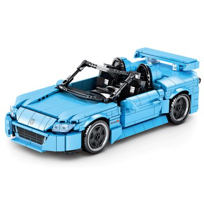 Technic SY 8307 Juggernaut Frenzy: Honda Roadster Pull Back