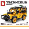 Technic SY 8551 Landrover Defender 90 off-road pull back car