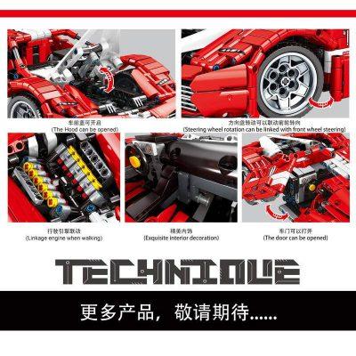 SY 8608 Juggernaut Ferrari FXX Pull Back 4