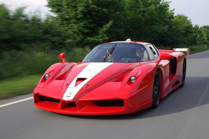 Technic SY 8608 Juggernaut: Ferrari FXX Pull Back