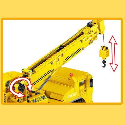 ZHEGAO QL0238 Engineering Crane Construction Vehicle 4