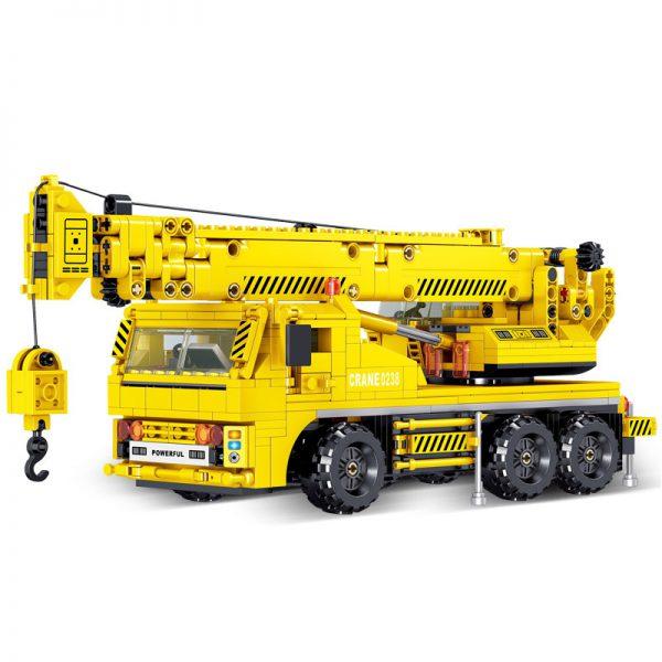 ZHEGAO QL0238 Engineering Crane Construction Vehicle 5