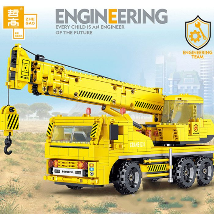 Technic ZHEGAO QL0238 Engineering Crane Construction Vehicle
